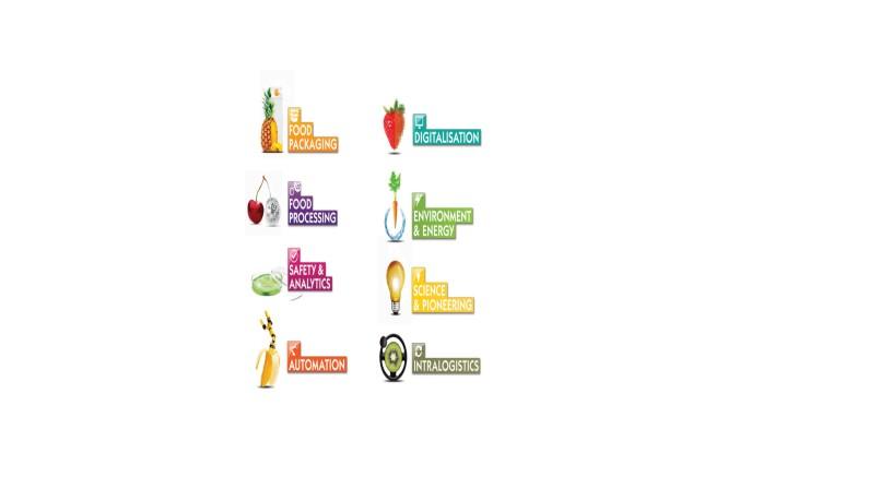 Segments of Anuga FoodTec