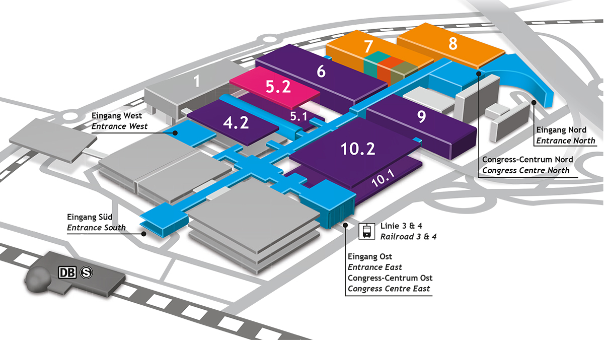 Anuga FoodTec Hall allocation