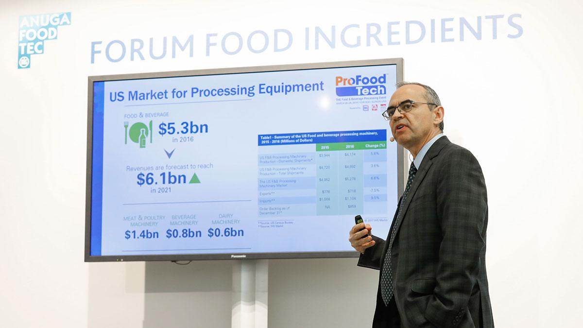 Anuga FoodTec Vortrag