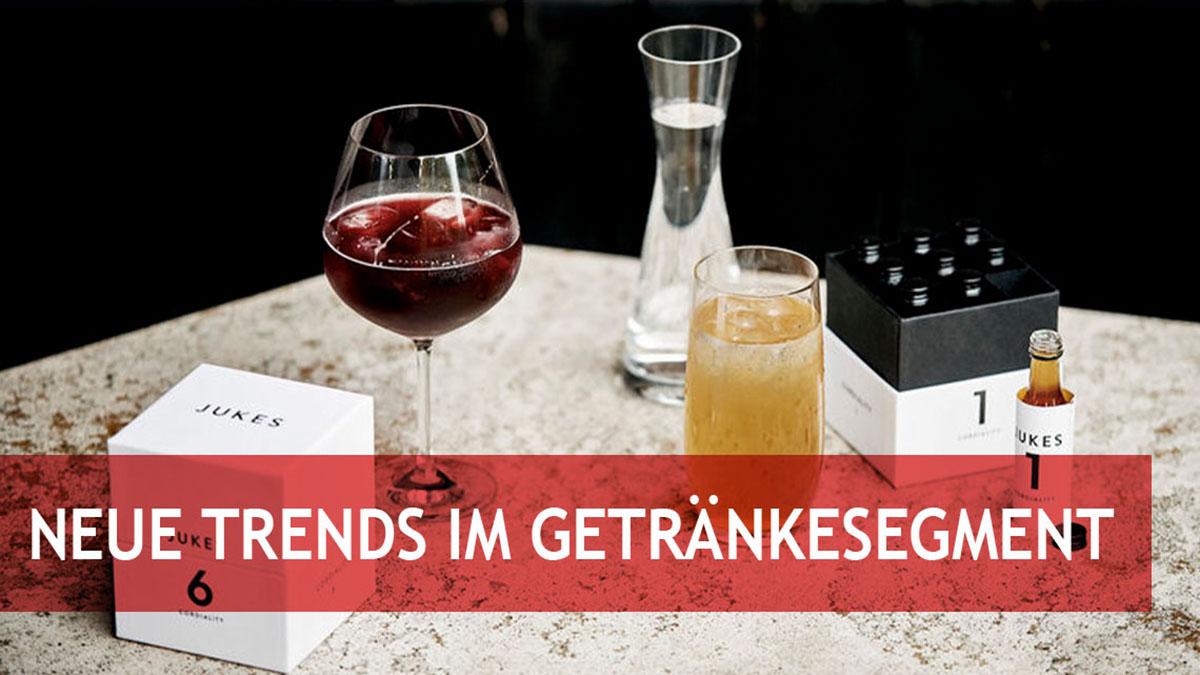 Neue Trends im Getränkesegment: Von alkoholfrei bis ökologisch verpackt