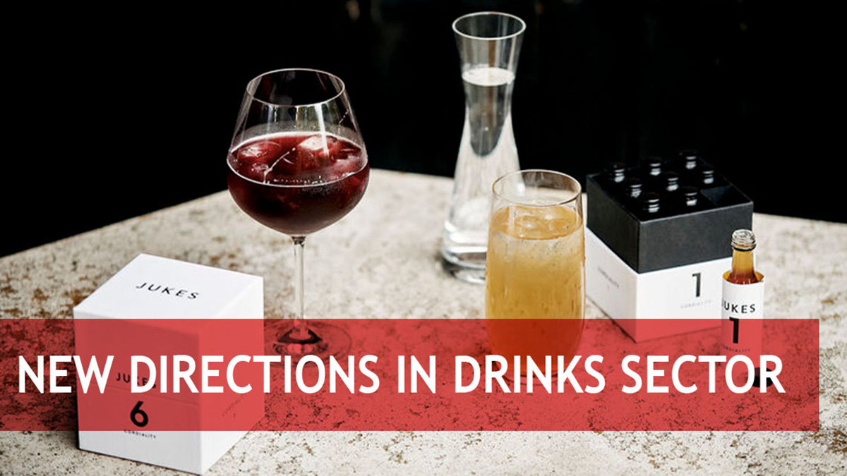 New ways in the beverage sector: From alcohol-free to ecologically packaged
