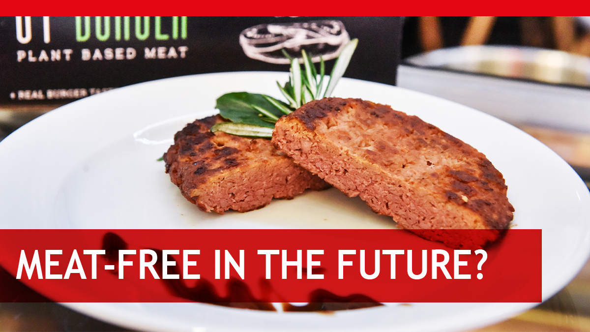 Meat-free in the future?