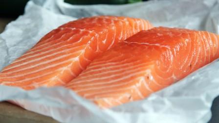 Salmon on packaging
