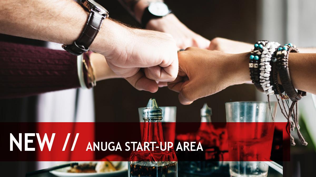 Weltpremiere der Anuga Start-up Area.
