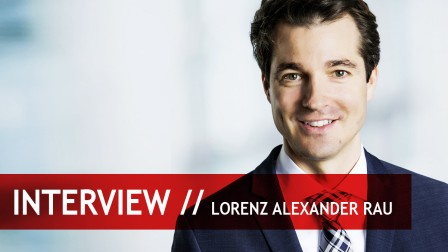 Interview with Lorenz Alexander Rau