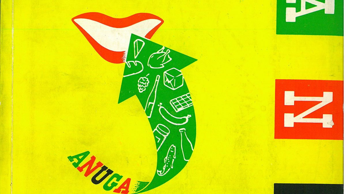 1955: Anuga once again increase its number of exhibitors and visitors