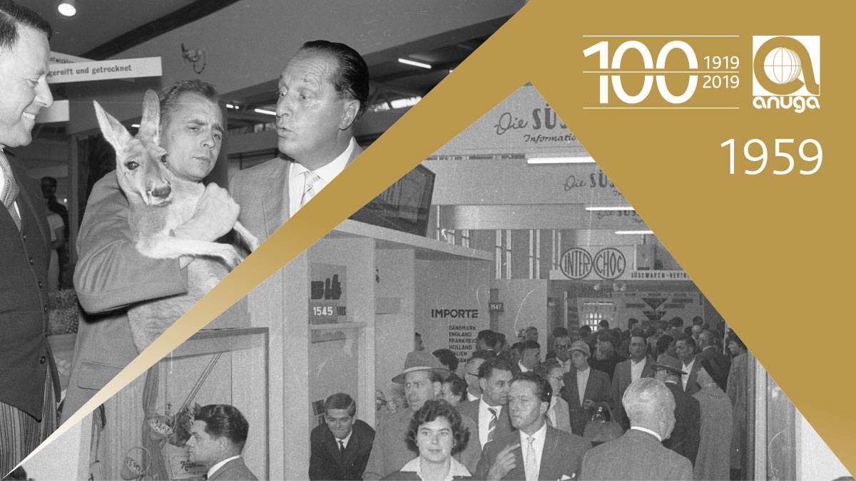 1959: For the first time buyer days for the trade