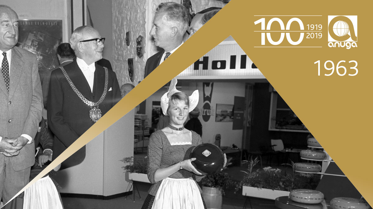 1963: New focus - the dairy industry