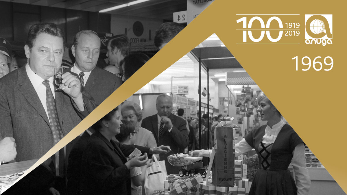 1969: Shorted to seven days - 50 years of Anuga