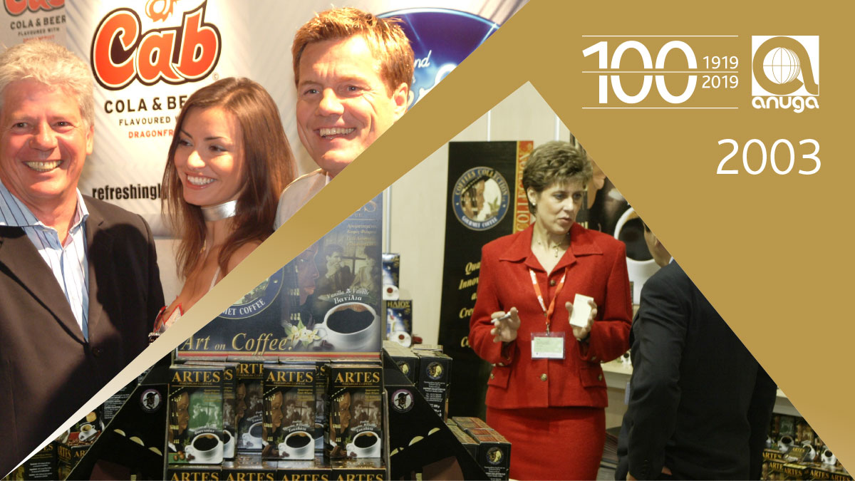 2003: Ten trade shows under one roof