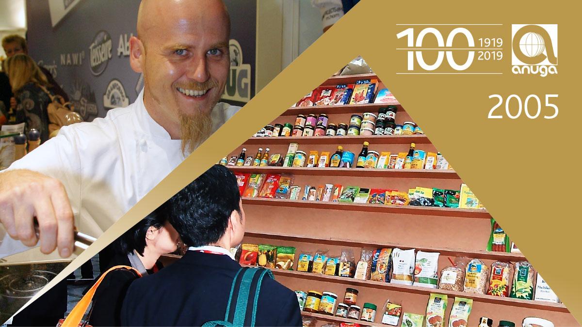 2005: Successful trade fair year