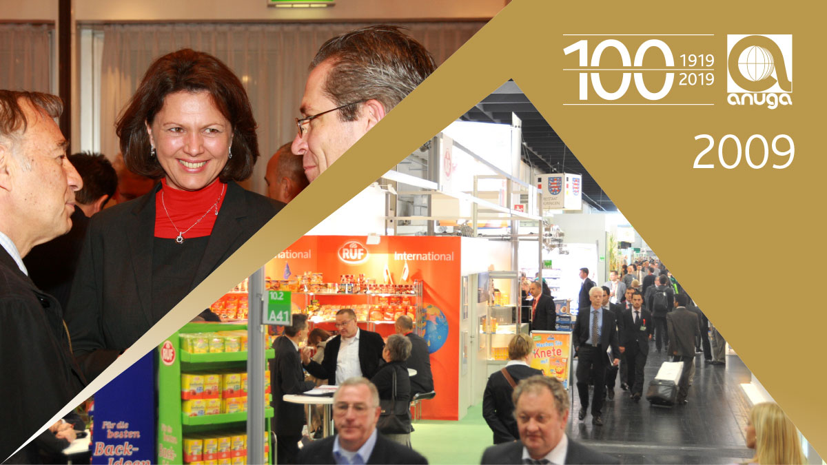 2009: Partner country Turkey - First Anuga Gourmet Festival in the city accompanying the fair
