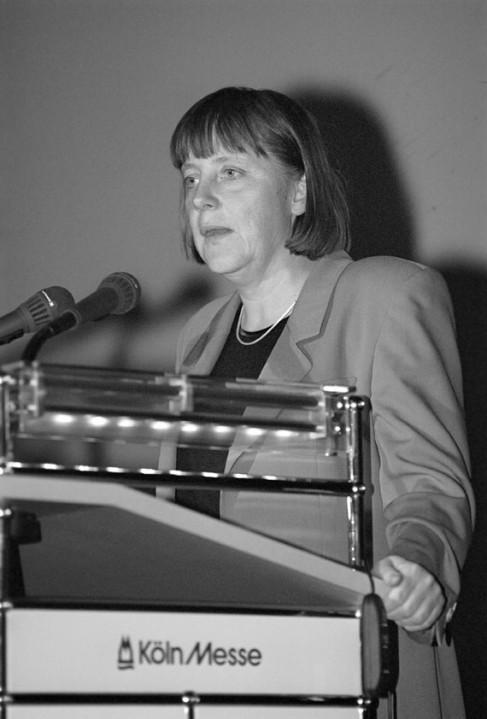 Anuga-100-Jahre-Impressionen-1999 - Angela Merkel