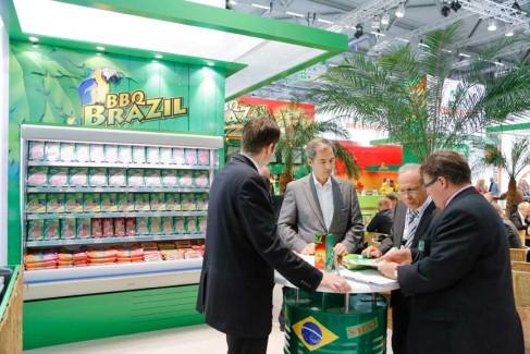 Anuga-100-Jahre-Impressionen-2013 - Ausstellerstand BBQ BRAZIL