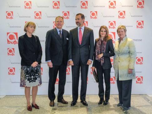 Anuga-100-Jahre-Impressionen-2013 - König Felipe und Königin Letizia von Spanien