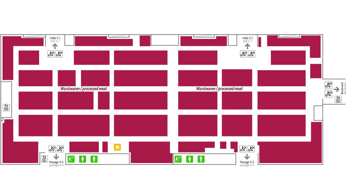 Anuga trade shows: Anuga Meat - Overview hall 5.2