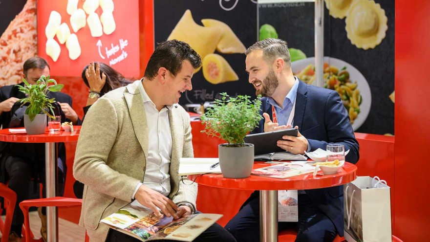 Become an exhibitor at Anuga