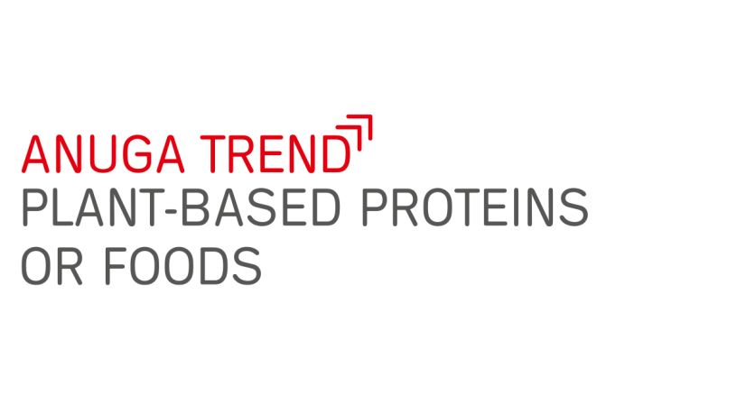 Anuga food trend Plant based protein foods