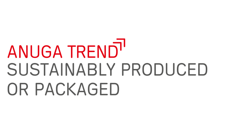 "Anuga food trend ""Sustainably produced or packaged"""