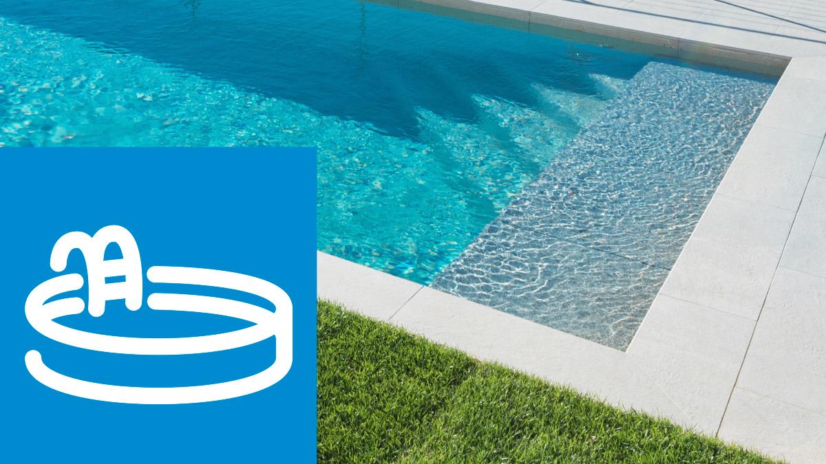 Privater Schwimmbadbereich