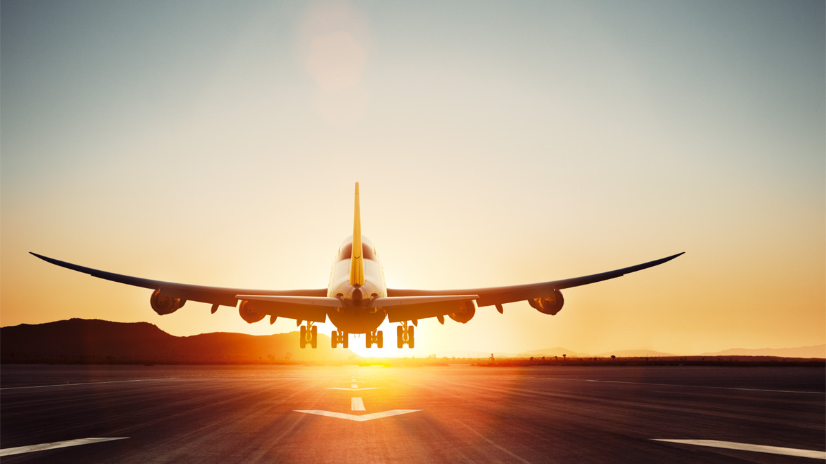 Anreise per Flugzeug zur Koelnmesse