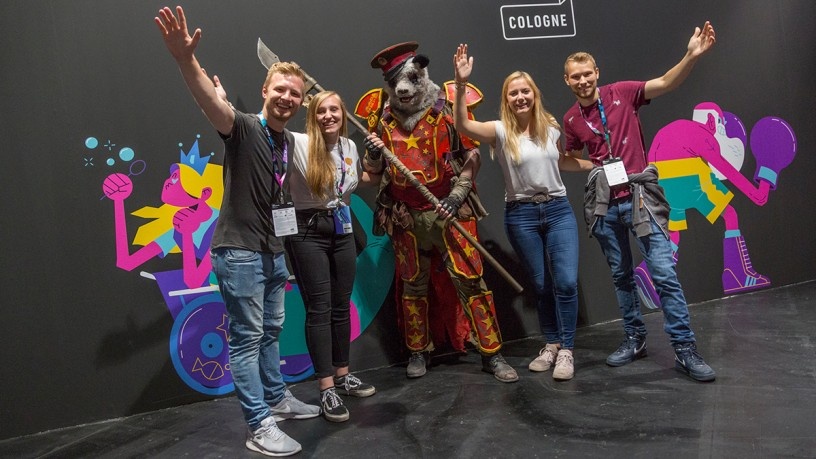 Arrival and accomodation at CCXP COLOGNE