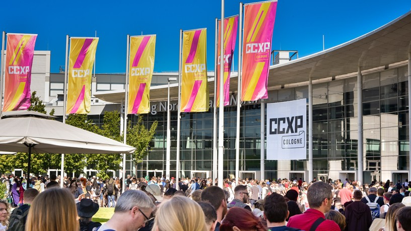 Good reasons for CCXP COLOGNE visitors