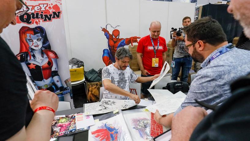 Artists at CCXP COLOGNE