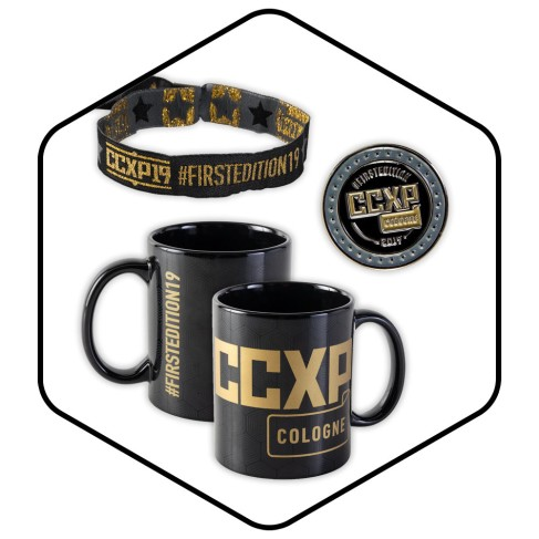 CCXP_COLOGNE_Merchandise_Tasse_Armband_Button