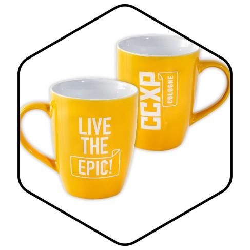 CCXP_COLOGNE_Merchandise_Tasse_gelb
