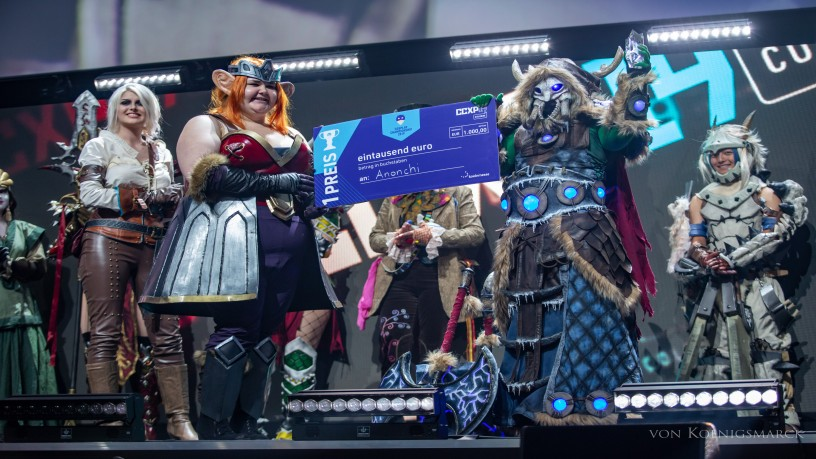 Winners of the 2nd Cosplay Championship zur CCXP COLOGNE