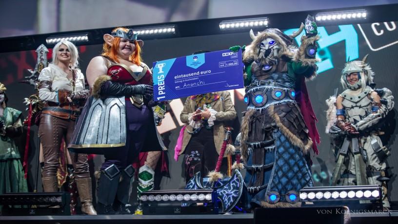 Gewinner der 2. Cosplay Championship zur CCXP COLOGNE