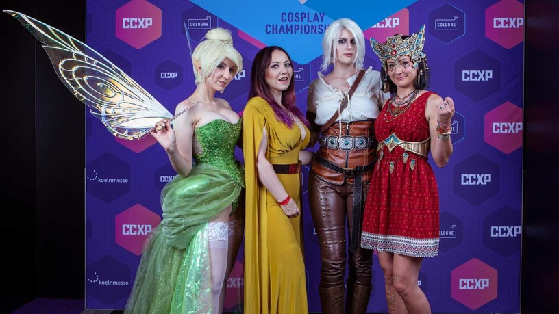 The jury members of the Cosplay Championship 2019