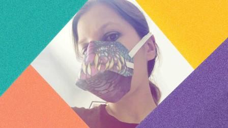 Sarah Salié - Die Gewinnerin des #ccxpheldenmasken-Wettbewerbs