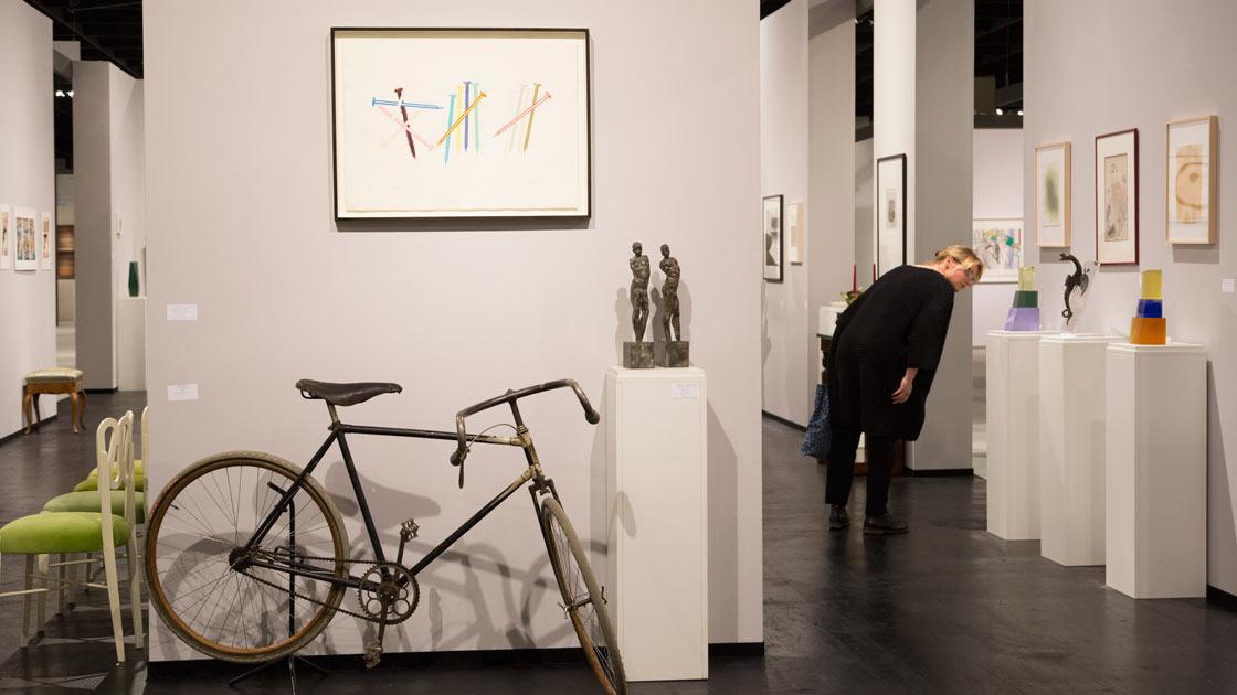 Young Collectors Room auf der Cologne Fine Art
