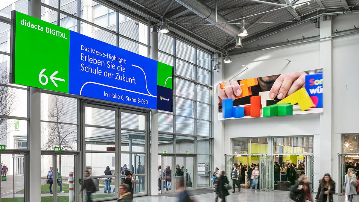 Digitale Werbeflächen buchen