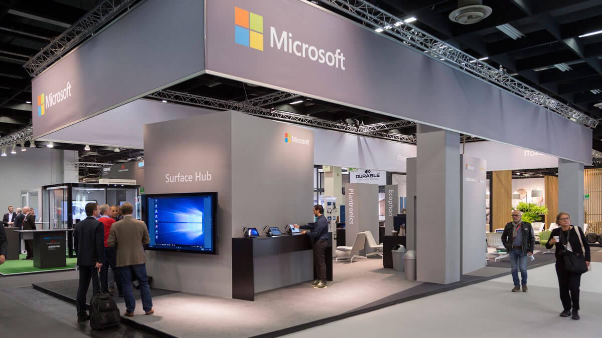 Microsoft zur Orgatec