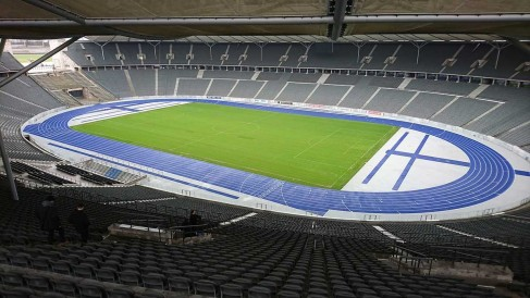 Laufbahn Olympiastadion-Berlin
