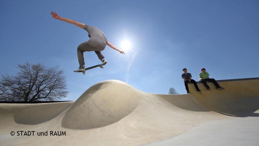 Freiraum Skaterbahn