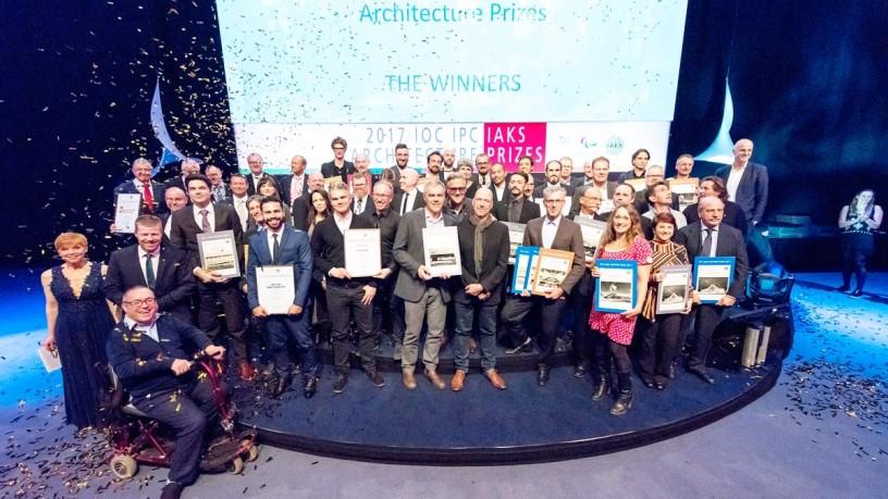 IOC IPC IAKS Architecture Prizes 2019