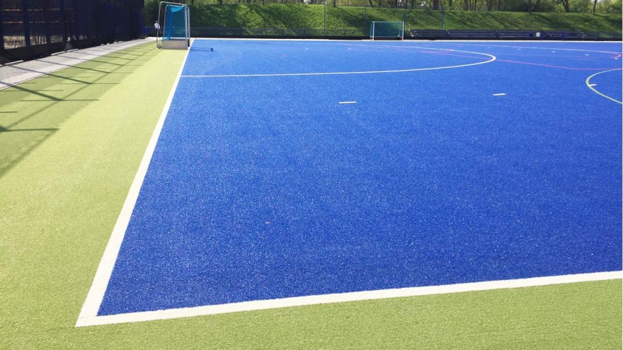 Recycling of tartan running tracks, artificial turf and other sports floors/materials