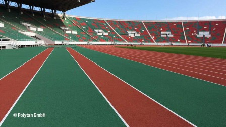 Stadium with IAAF certificate