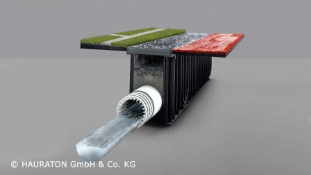 Surface filtration retains the smallest particles