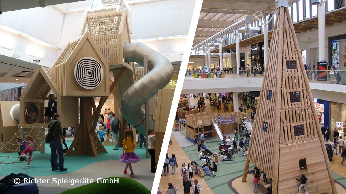 Richter Spielgeräte GmbH - playing in shopping centres worldwide