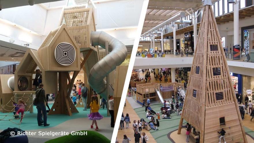Richter Spielgeräte GmbH- play in shopping centres worldwide