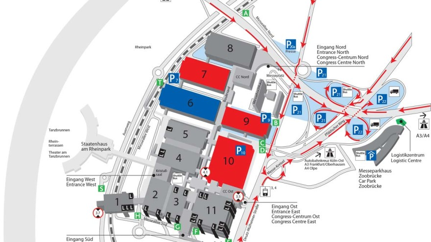 Traffic guidelines and traffic routeing plan of FSB