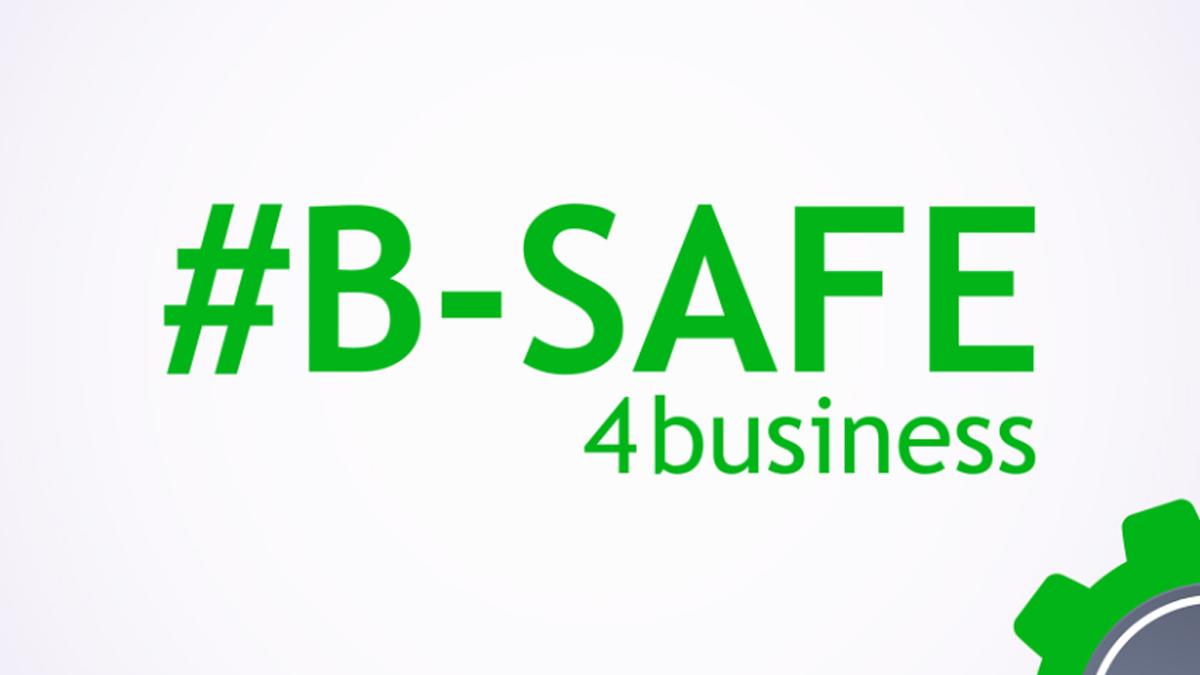 #B-SAFE4business