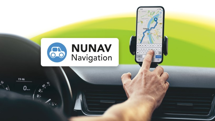 NUNAV - The navigation system to Koelnmesse