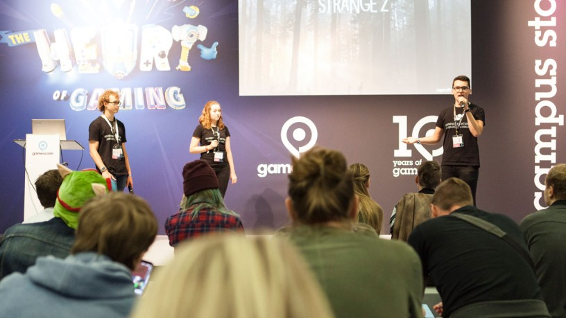Campus stage at gamescom 2019