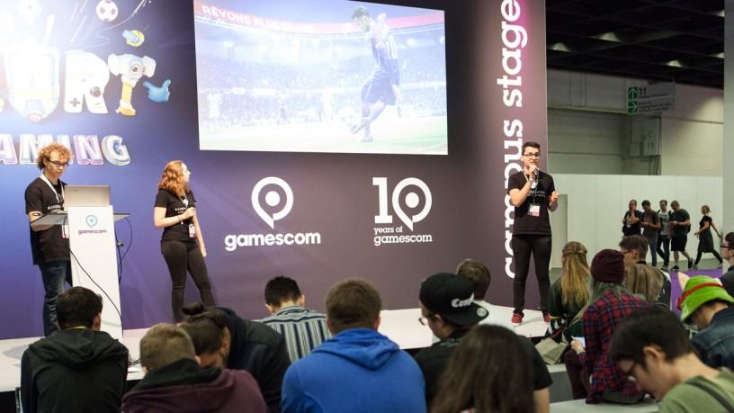 Campus Bühne auf der gamescom 2019